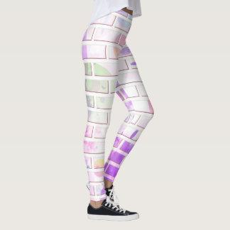 Colorful Brick Wall Leggings