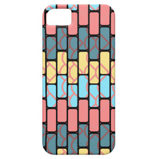 Colorful bricks pattern barely there iPhone 5 case