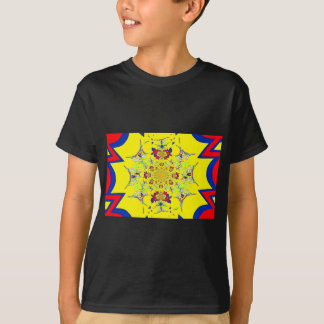 Colorful Bright floral damask design T-Shirt