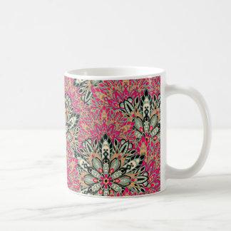 Colorful bright mandala pattern. coffee mug