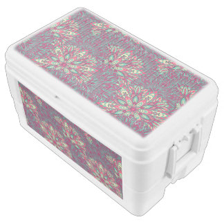 Colorful bright mandala pattern. cooler