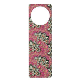 Colorful bright mandala pattern. door hanger