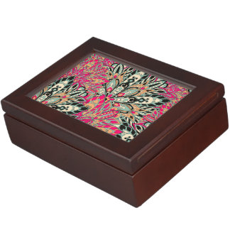 Colorful bright mandala pattern. keepsake box