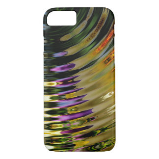Colorful Bright Waves iPhone 8/7 Case