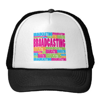 Colorful Broadcasting Mesh Hat