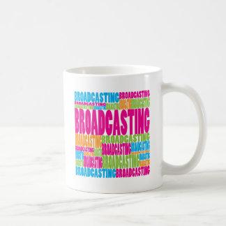 Colorful Broadcasting Mugs