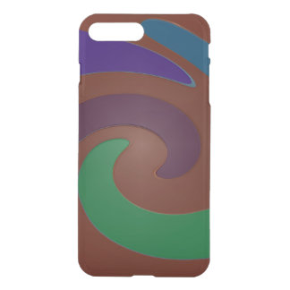 Colorful Brown Green Mod Design iPhone 7 Plus Case