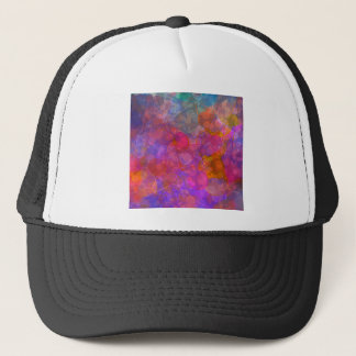 Colorful Bubble Pattern Design Trucker Hat