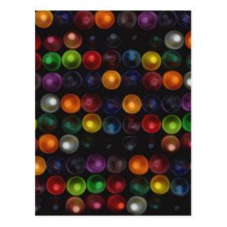Colorful Bubble Postcard