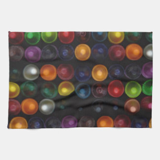 Colorful Bubble Tea Towel