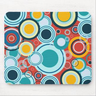 Colorful Bubbles Mouse Pads