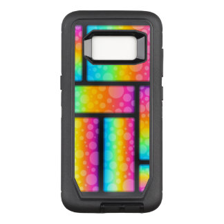 Colorful Bubbles Pattern OtterBox Defender Samsung Galaxy S8 Case