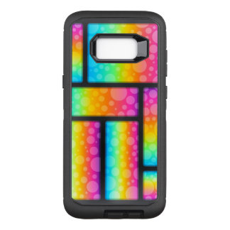 Colorful Bubbles Pattern OtterBox Defender Samsung Galaxy S8+ Case