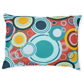 Colorful Bubbles Pet Bed