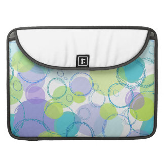 Colorful Bubbles Sleeve For MacBook Pro