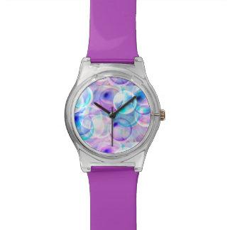Colorful bubbles! watch