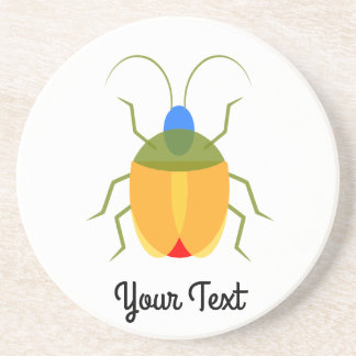 Colorful Bug Coaster