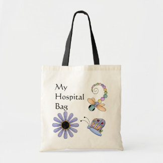 Colorful Bugs Hospital Over Night Tote