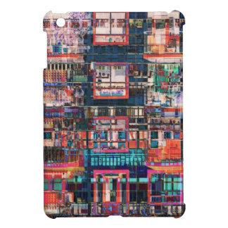 Colorful Buildings Collage iPad Mini Cases