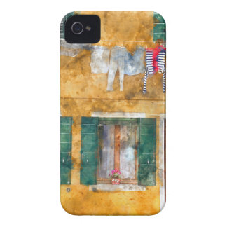 Colorful Buildings in Venice Italy iPhone 4 Case