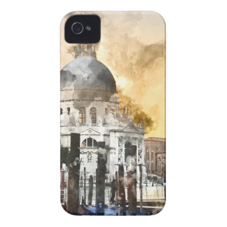 Colorful Buildings in Venice Italy iPhone 4 Case-Mate Case