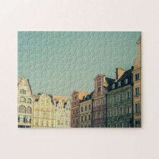 Colorful Buildings in Wroclaw, Poland Jigsaw Puzzle