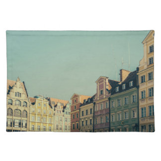 Colorful Buildings in Wroclaw, Poland Placemat
