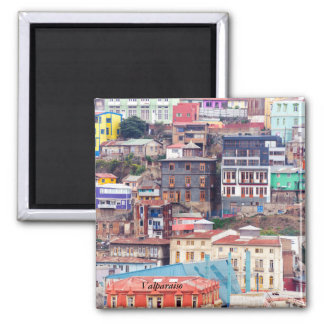 Colorful Buildings on to Hill Square Magnet