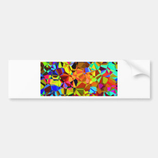 Colorful Bumper Sticker