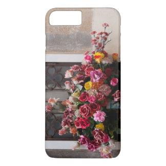 Colorful Bunch Of Plastic Roses iPhone 7 Plus Case