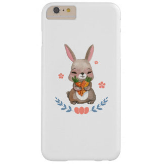 Colorful Bunny Easter Men Womens Kids Gift Barely There iPhone 6 Plus Case