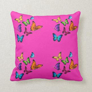Colorful Butterflies Cushion