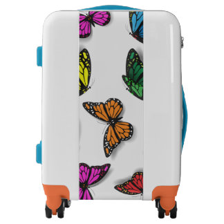 Colorful Butterflies Kailin Gow's Go Girl Luggage