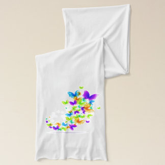Colorful Butterflies Scarf