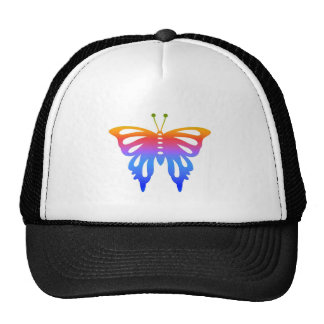 Colorful Butterfly Cap
