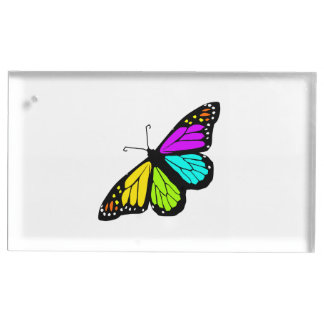 Colorful butterfly clipart place card holder