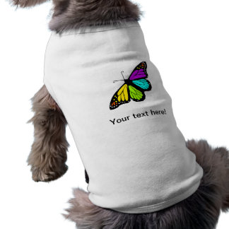 Colorful butterfly clipart shirt