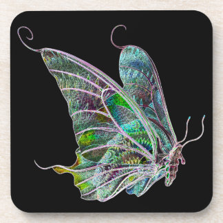 Colorful Butterfly Coasters