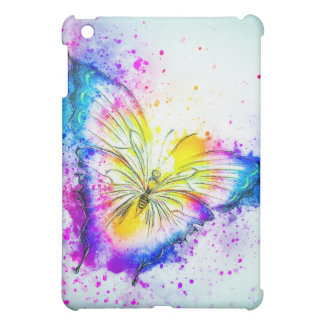 Colorful Butterfly Design iPad Mini Case