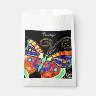 colorful butterfly Thunder_Cove Favour Bag