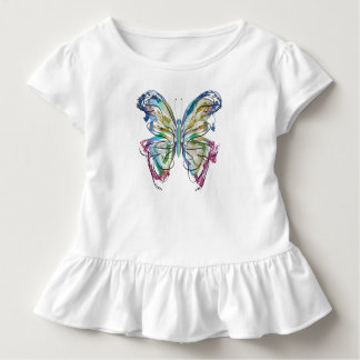 Colorful Butterfly Toddler T-Shirt