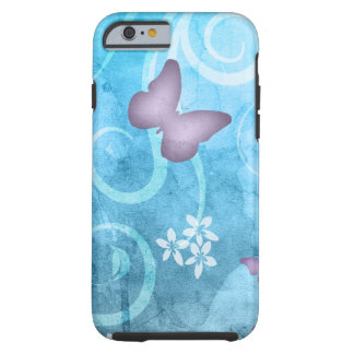 Colorful Butterfly Watercolor Painting Tough iPhone 6 Case