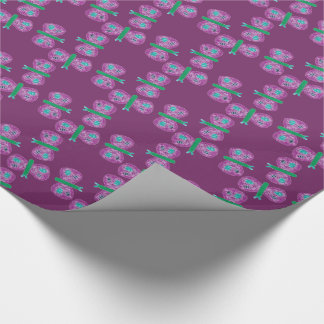 Colorful Butterfly Wrapping Paper