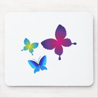 Colorful Buttlerflies Mousepads