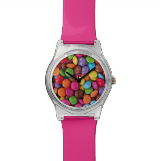 Colorful Button Candy Watch