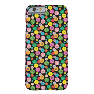 Colorful button pattern barely there iPhone 6 case