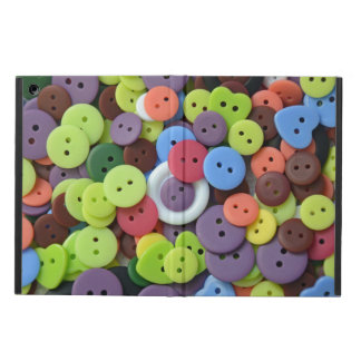 Colorful button pattern ipad air case