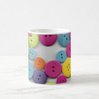 Colorful Buttons Coffee Mug