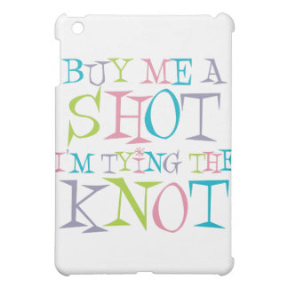 Colorful Buy Me A Shot Cover For The iPad Mini
