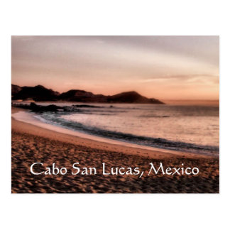 Colorful Cabo sunset Postcard